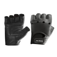 Перчатки кожаные (черные) Be First